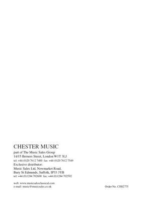 Simon Holt: 3rd Quartet: String Quartet