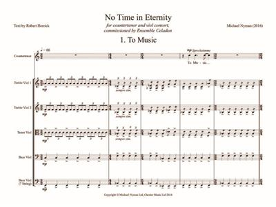 Michael Nyman: No Time in Eternity