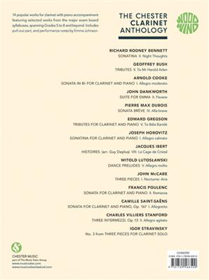 The Chester Clarinet Anthology: Arr. (Amy Dickson): Clarinet