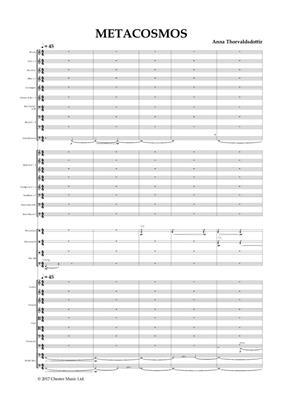 Anna Thorvaldsdottir: METACOSMOS: Orchestra