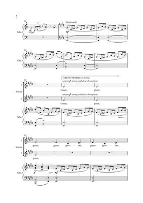 Judith Weir: The Big Picture (Vocal Score/Keyboard): Mixed Choir