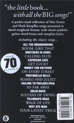 Mark Knopfler: The Little Black Songbook: Dire Straits M.Knopfler: Lyrics & Chords