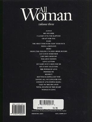 All Woman Volume 3: Piano, Vocal, Guitar