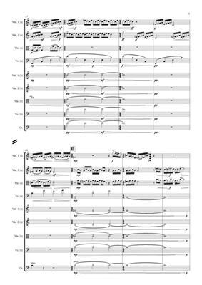 Ed Hughes: Flint: Violin Ensemble