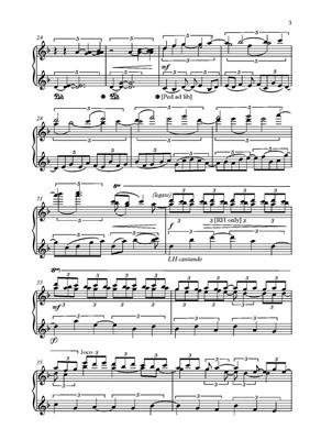 Robert Saxton: Fantasy on the notes Acade: Piano