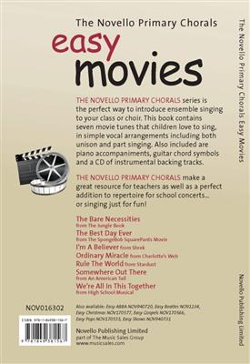 The Novello Primary Chorals: Easy Movies: Unison or 2-Part Choir