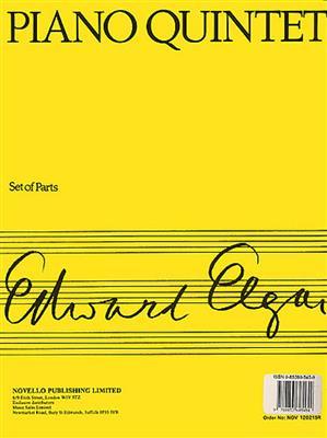 Edward Elgar: Piano Quintet Op.84: Piano Quintet