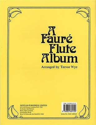 Gabriel Fauré: A Faure Flute Album: Arr. (Robert Scott): Flute