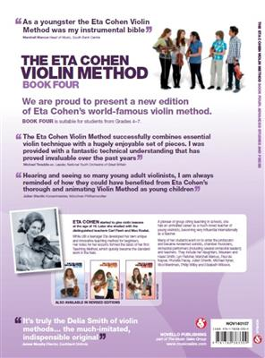 Eta Cohen: The Eta Cohen Violin Method: Book 4: Violin