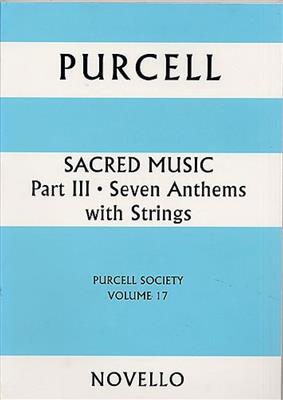 Henry Purcell: Purcell Society Volume 17: SATB