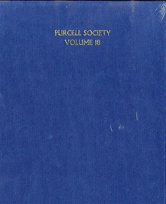 Henry Purcell: Purcell Society Volume 18: SATB