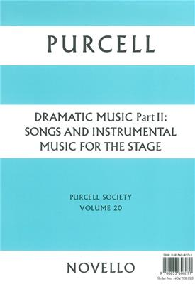 Purcell Society Volume 20: Opera or Operette
