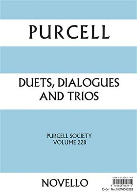Purcell Society Volume 22: Mixed Choir