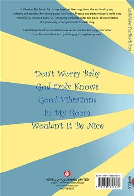 The Beach Boys: Little Voices - The Beach Boys: Arr. (Jonathan Wikeley): 2-Part Choir