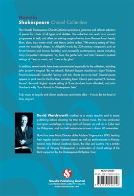 The Novello Shakespeare Choral Collection: SATB