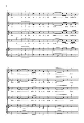 Owain Park: When Love Speaks: SATB