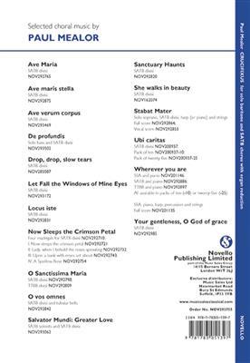 Paul Mealor: Crucifixus: SATB