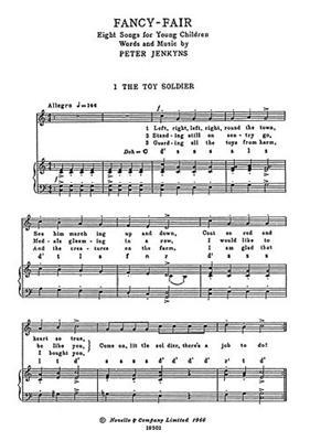 Peter Jenkyns: Fancy Fair: Mixed Choir