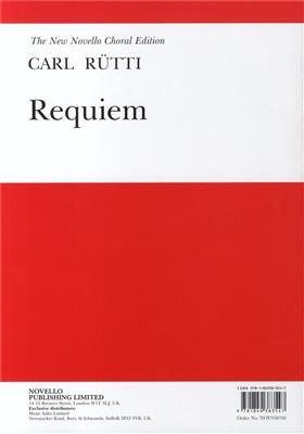 Carl Rütti: Requiem: SATB