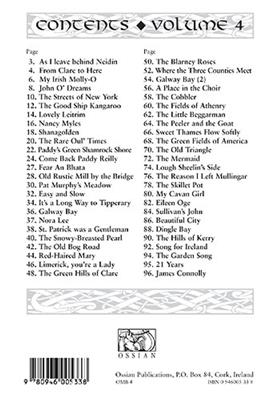 Folksongs & Ballads Popular In Ireland Vol. 4: Melody, Lyrics & Chords