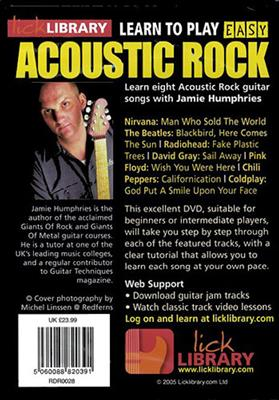 Learn To Play Easy Acoustic Rock Volume 2