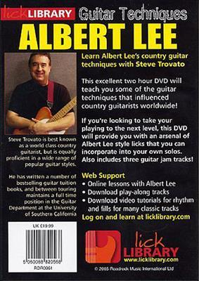 Albert Lee Guitar Techniques