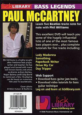 Bass Legends - Paul McCartney