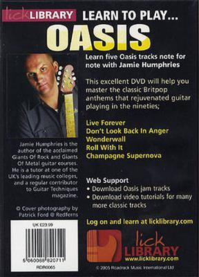 Learn To Play Oasis