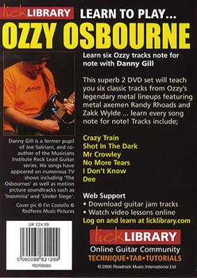 Learn To Play Ozzy Osbourne