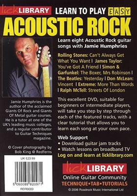 Learn To Play Easy Acoustic Rock - Volume 5