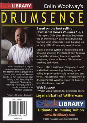 Colin Woolway's Drumsense - Volume 1