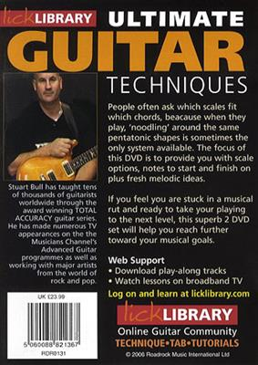 Lick Library - Ultimate Guitar Techniques