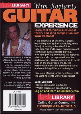 Wim Roelants' Guitar Experience