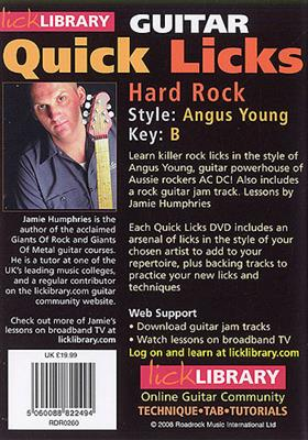 Quick Licks - Angus Young Hard Rock