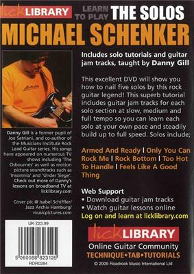 Learn To Play Michael Schenker - The Solos