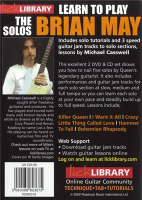 Learn To Play Brian May - The Solos