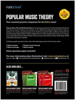 Rockschool: Rockschool: Popular Music Theory Workbook Debut