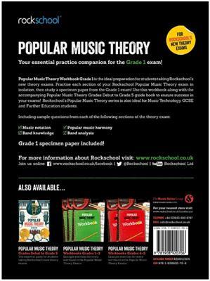 Rockschool: Rockschool: Popular Music Theory Workbook Grade 1