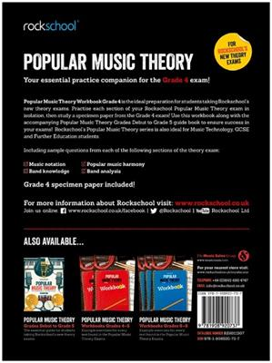 Rockschool: Rockschool: Popular Music Theory Workbook Grade 4