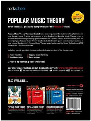 Rockschool: Rockschool: Popular Music Theory Workbook Grade 5