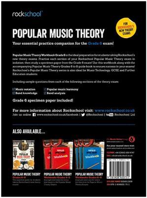 Rockschool: Rockschool: Popular Music Theory Workbook Grade 6