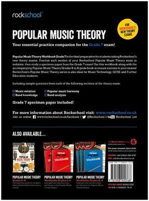 Rockschool: Rockschool: Popular Music Theory Workbook Grade 7