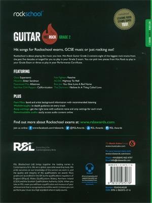 Rockschool: Hot Rock Guitar - Grade 2: Guitar or Lute