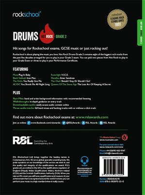 Rockschool: Hot Rock Drums - Grade 2: Drums and Percussion