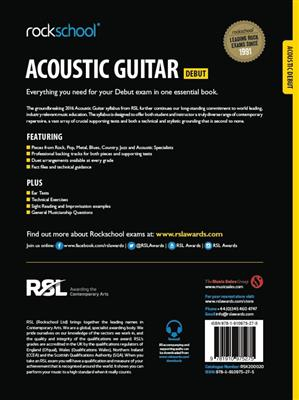 Rockschool: Rockschool Acoustic Guitar - Debut (2016)