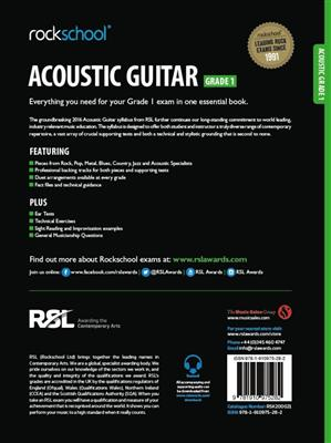 Rockschool: Rockschool Acoustic Guitar - Grade 1 (2016)