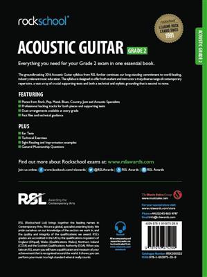 Rockschool: Rockschool Acoustic Guitar - Grade 2 (2016)
