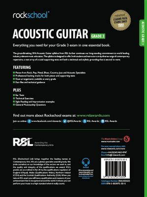 Rockschool: Rockschool Acoustic Guitar - Grade 3 (2016)
