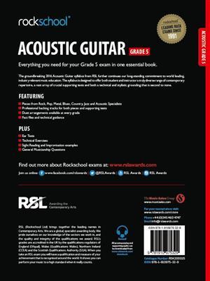 Rockschool: Rockschool Acoustic Guitar - Grade 5 (2016)