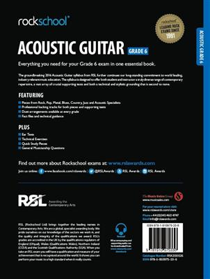 RSL: Rockschool Acoustic Guitar - Grade 6 (2016)